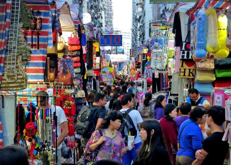 Street Markets in Mong Kok