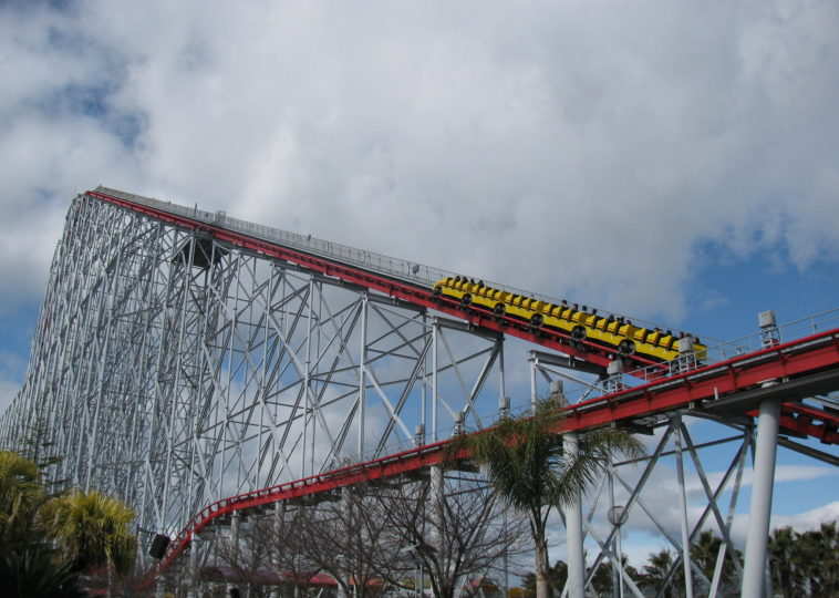 Steel Dragon 2000, Nagashima Spa Land Amusement Park, Japan