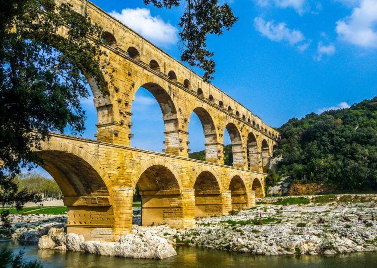 Pont Du Gard Bridge, Nime