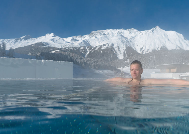Relax in A Thermal Spa