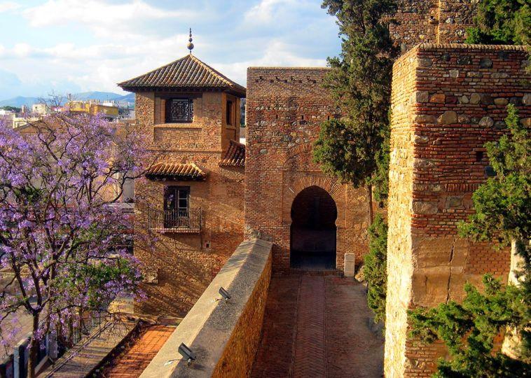 The Alcazaba of Malaga