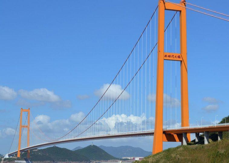Xihoumen Bridge, China