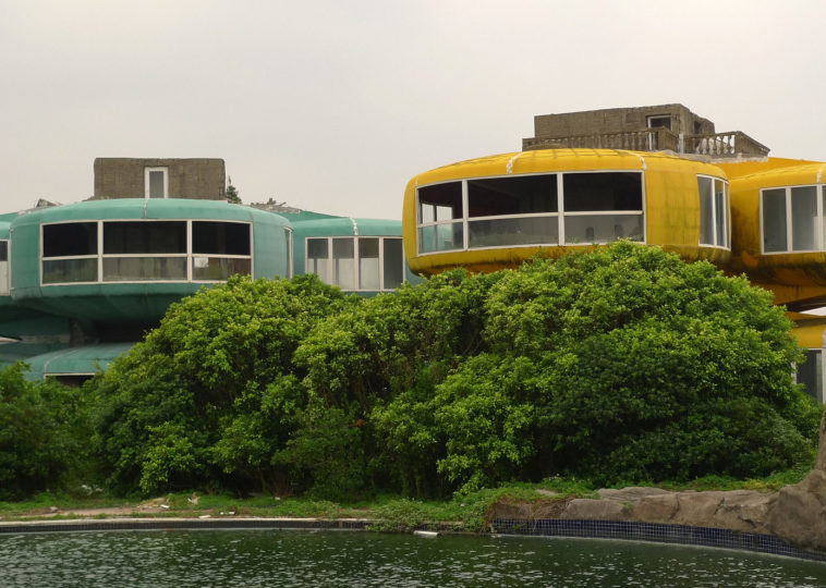 Sanzhi Ufo Houses , Taiwan